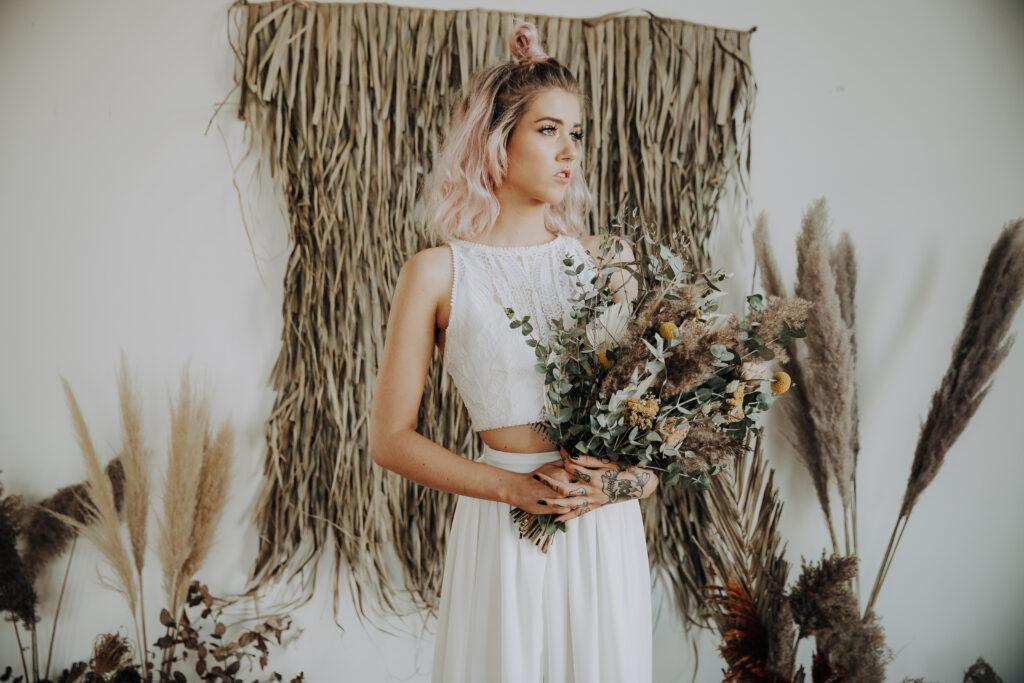 Boho bride inspiration styling shoot 1